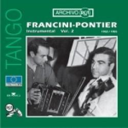 "FRANCINI - PONTIER INSTRUMENTAL (1952-1955) VOLUMEN 2"""