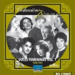 VOCES FEMENINAS VOL.1 (1929-1961
